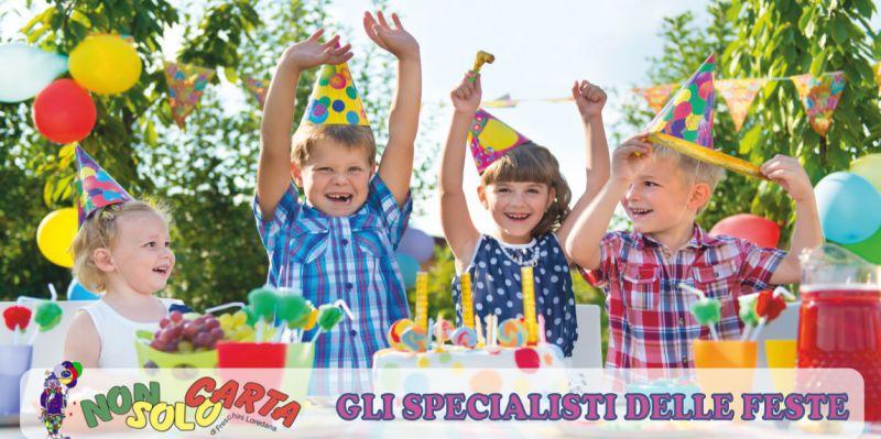non solo carta offerta bomboniere cresima marsciano - occasione palloncini per feste perugia