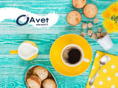 offerta colazione muffin omaggio promozione distributori automatici cibi bevande avet srl