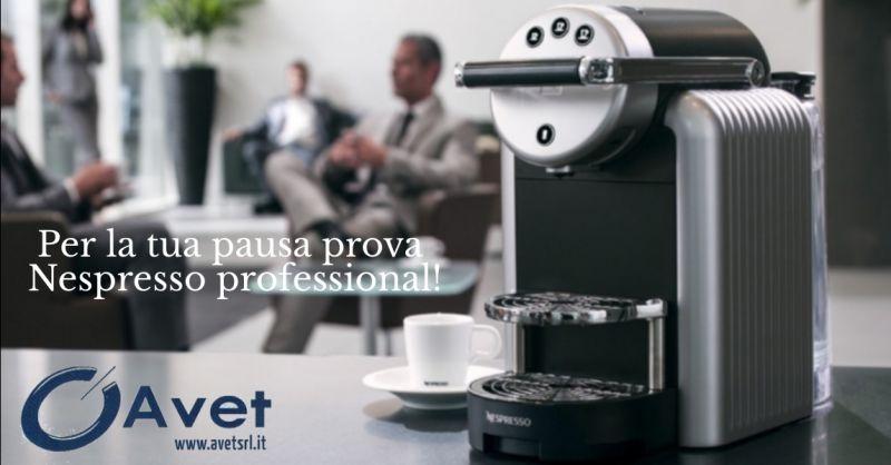 AVET offerta Nespresso Professional - occasione macchine caffe' per ufficio