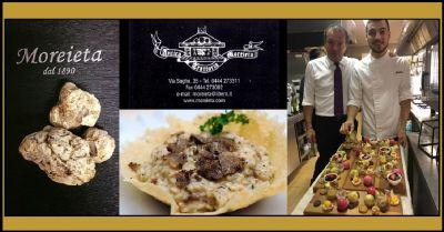 specialita risotto al tartufo nero dei berici trattoria ristorante vicenza cucina casalinga