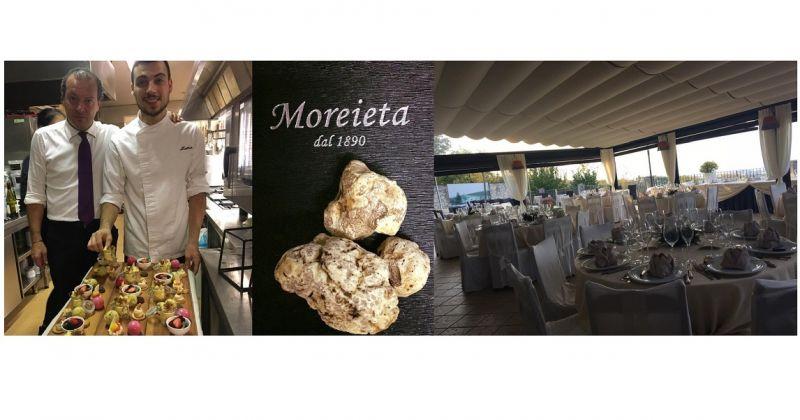 Trattoria Moreieta: specialità Risotto al Tartufo