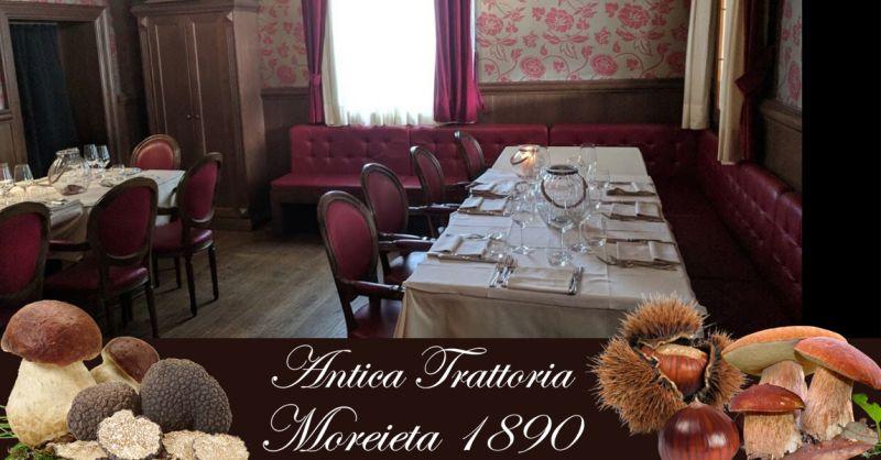 ANTICA TRATTORIA MOREIETA - Promozione ristorante specialità gastronomia tradizionale vicentina