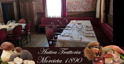 antica trattoria moreieta promozione ristorante specialita gastronomia tradizionale vicentina