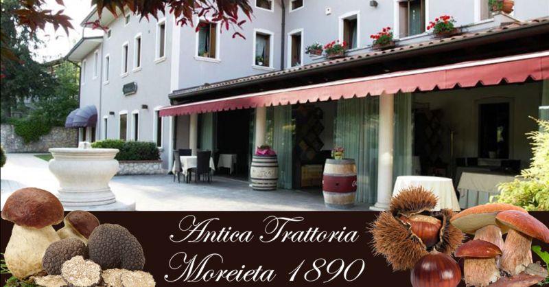 Antica Trattoria Moreieta - Offerta piatti speciali entrecôte con tartufo e coniglio arrotolato