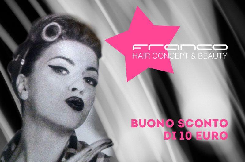 offerta buono sconto parrucchiere promozione salone parrucchieri franco hair