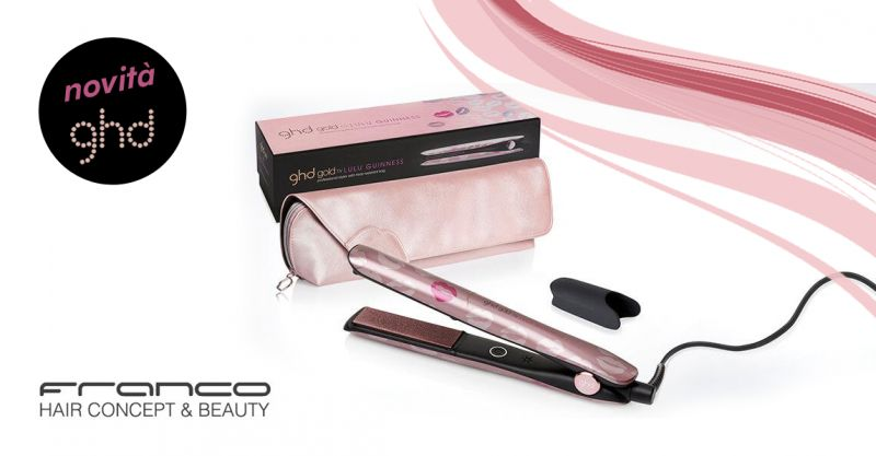 offerta piastra ghd lulu guinness rosa - promozione nuova piastra ghd pink limited edition