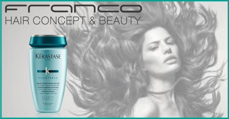 Franco Hair Concept & Beauty offerta shampoo per capelli danneggiati
