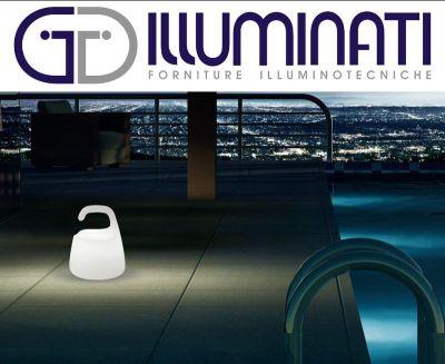 offerta lampada ricaricabile curling promozione pan international illuminati