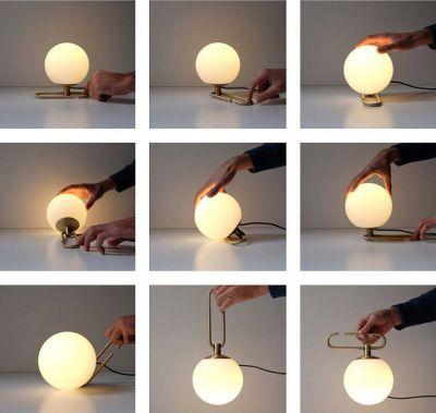 nh1217 artemide lampada in vetro soffiato