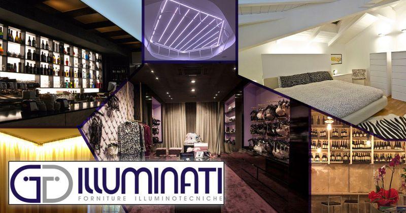 offerta consulenza illuminazione interni esterni - servizio progettazione lighting design