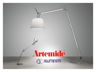 offerta lampada artemide tolomeo maxi occasione lampada da terra artemide