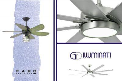 offerta lampada ventilatore faro barcelona ventilatore con luce faro barcelona
