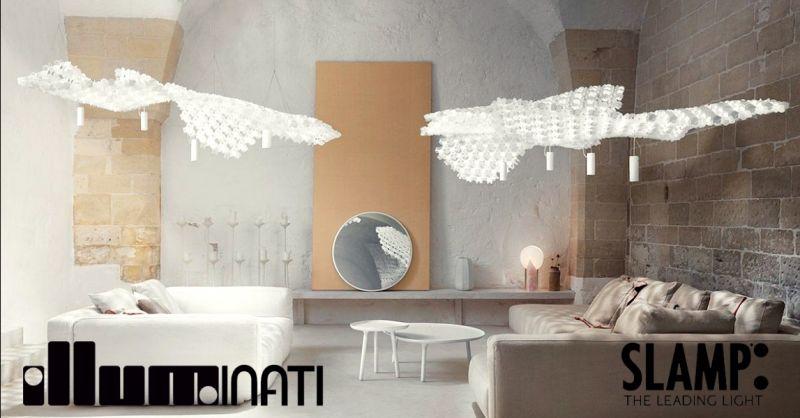offerta vendita lampadari di design SLAMP Terni - occasione acquisto lampade moderne SLAMP