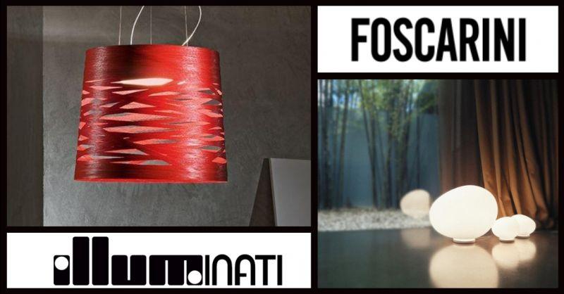 offerta lampade originali in vendita Terni - occasione acquisto lampadari FOSCARINI Terni