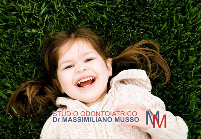 STUDIO ODONTOIATRICO DOTTOR MUSSO offerta pedodonzia – promozione odontoiatria pediatrica