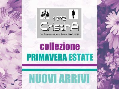 offerta collezione primavera estate promozione abbigliamento primaverile 1972 cristina narni