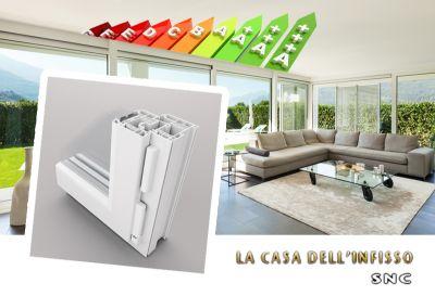 offerta infissi risparmio energetico promozione finestre taglio termico casa dell infisso