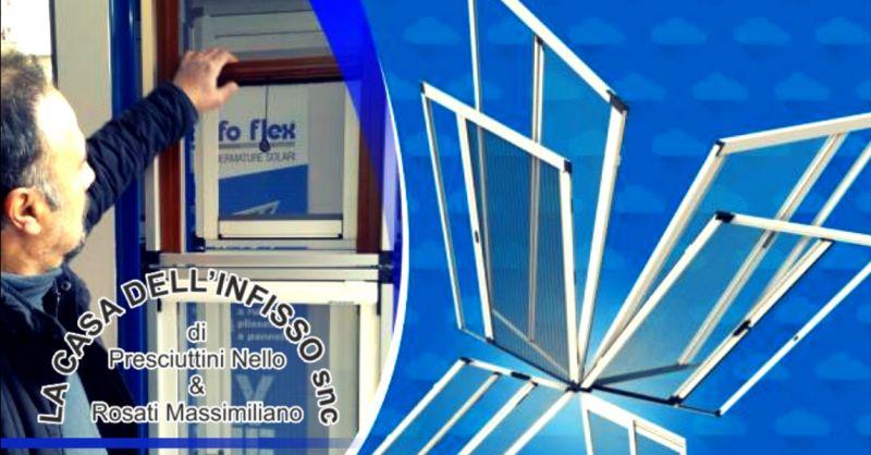 offerta vendita zanzariere su misura Terni - occasione installazione zanzariere personalizzate