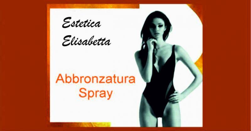 Estetica elisabetta offerta abbronzatura spray - occasione giornata dell'abbronzatura