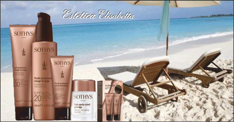estetica elisabetta offerta solari - occasione protezione della pelle dai raggi solari perugia