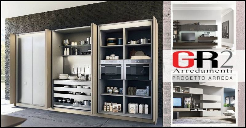 offerta pareti attrezzate e complementi arredo soggiorno - occasione arredamento zona giorno Siena