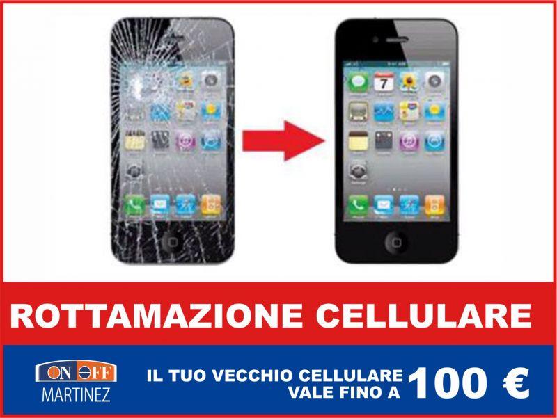 offerta rottamazione cellulare occasione supervalutazione smartphone on off martinez
