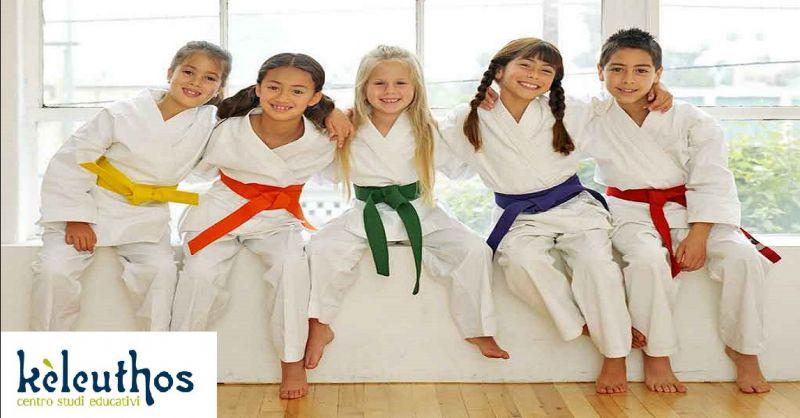 KELEUTHOS offerta discipline marziali per bambini - occasione attività per bambini e ragazzi