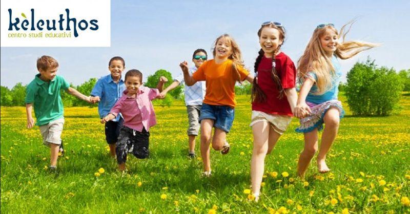 KELEUTHOS offerta centro estivo per bambini a Verona - occasione corsi per bambini e ragazzi
