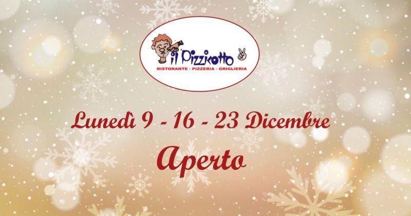 IL PIZZICOTTO2 SANT ORSOLA - offerta ristorante pizzeria aperto a dicembre il  lunedi
