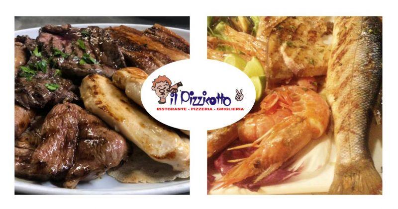 PIZZERIA IL PIZZICOTTO2 - offerta grigliate di carne e di pesce fresco