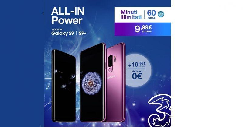 promozione Galaxy - offerta telefonia 3