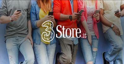 promozione negozio 3 store occasione negozio vendita smartphone e internet device