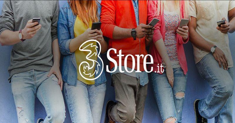 promozione negozio 3 store - occasione negozio vendita smartphone e internet device