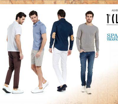 collezione moda maschile prima classe uomo spada