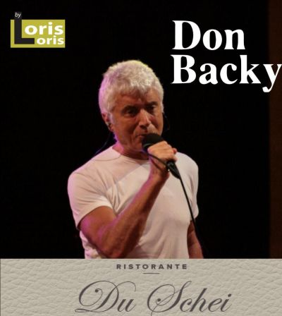 offerta serata musicale con don backy promozione cena con concerto ristorante verona