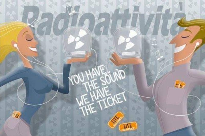 Radioattività offerta emittente radio frequenze FM Trieste - prevendita biglietti concerti