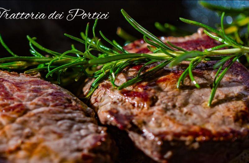 offerta menu carne ristorante -promozione menu pesce trattoria