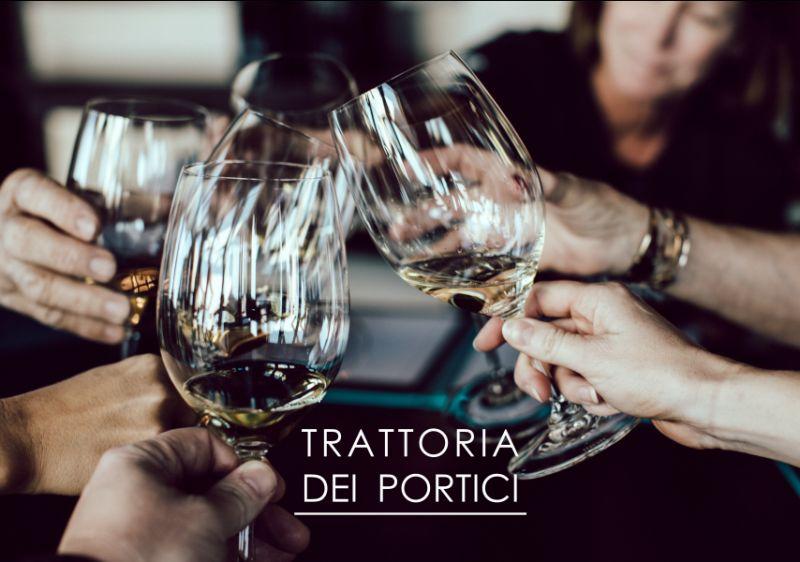 TRATTORIA DEI PORTICI offerta menu degustazione - promozione menu prezzo fisso