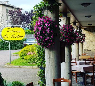trattoria dei portici offerta menu casereccio promozione cucina tipica bergamasca clusone