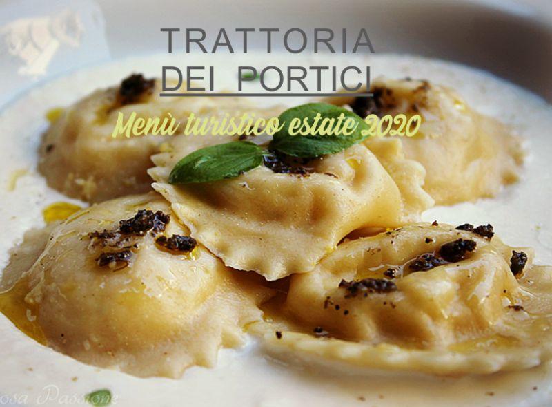 TRATTORIA DEI PORTICI offerta menu turistico – promozione cucina tipica bergamasca