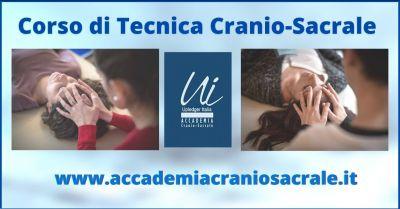 offerta corsi tecnica cranio sacrale trieste e roma upledger italia