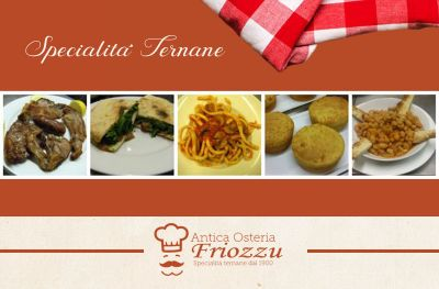 offerta cucina tipica ternana promozione specialita ternane antica osteria friozzu