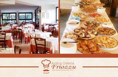 offerta locale banchetti ricevimenti promozione affitto sala ristorante eventi friozzu