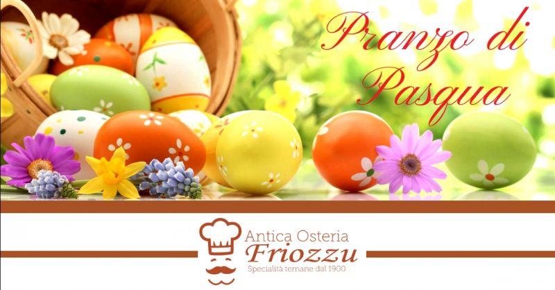 offerta ristorante per pranzo di Pasqua Terni - occasione trattoria cucina locale ternana Terni