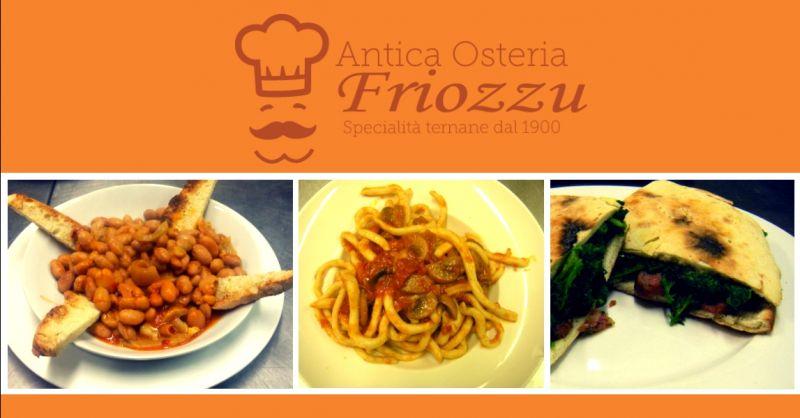 offerta ristorante cucina tipica Terni - occasione dove mangiare piatti tipici ternani Terni