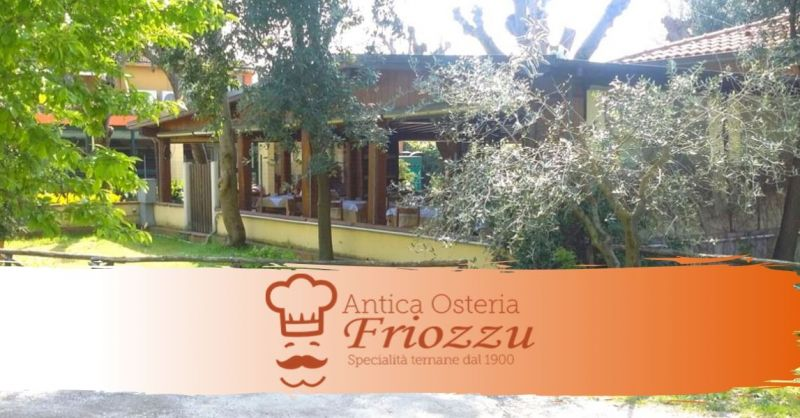 Offerta ristorante dove mangiare all'aperto Terni - occasione specialità cucina ternana Terni