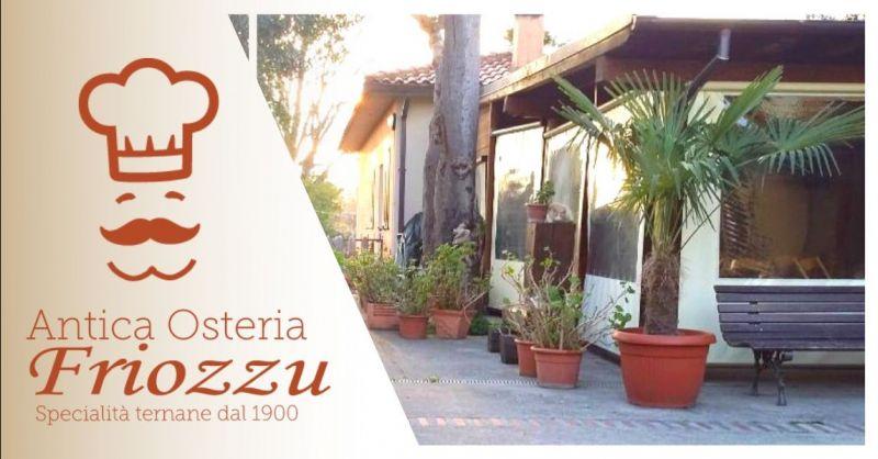 Offerta ristorante dove si mangia all'aperto Terni - Occasione trattoria tipica ternana Terni