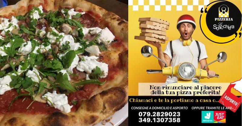 PIZZERIA LA SCACCHIERA Sassari - offerta consegna pizza a domicilio JustEat e Deliveroo