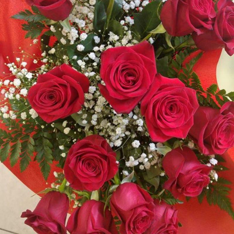 offerta bouquet rose rosse anniversario brescia promozione fiorista brescia nadia fiori