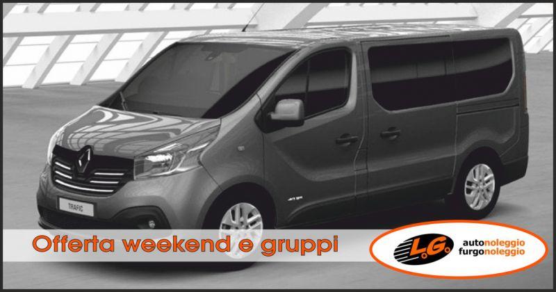 lg autonoleggio offerta noleggio furgone a 9 posti - occasione noleggio nel weekend perugia